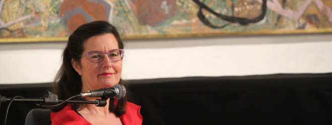 Author, Michele Gierck, speaking in Adelaide – 23 September, 2015